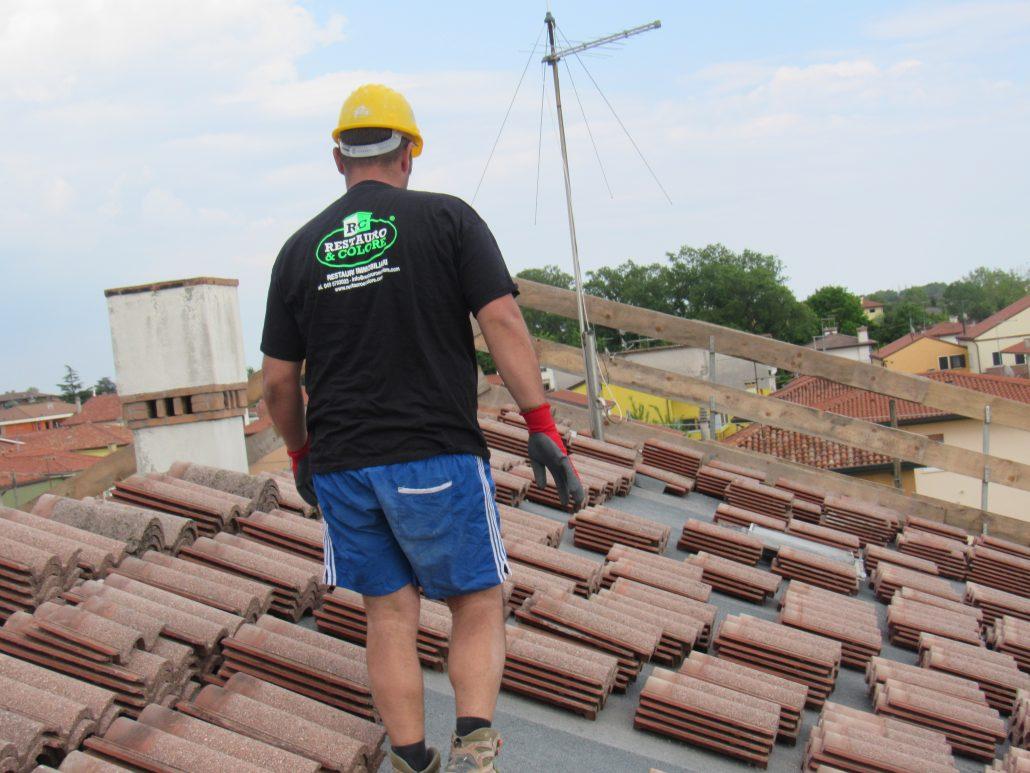 Impermeabilizzazione e ripasso tetto