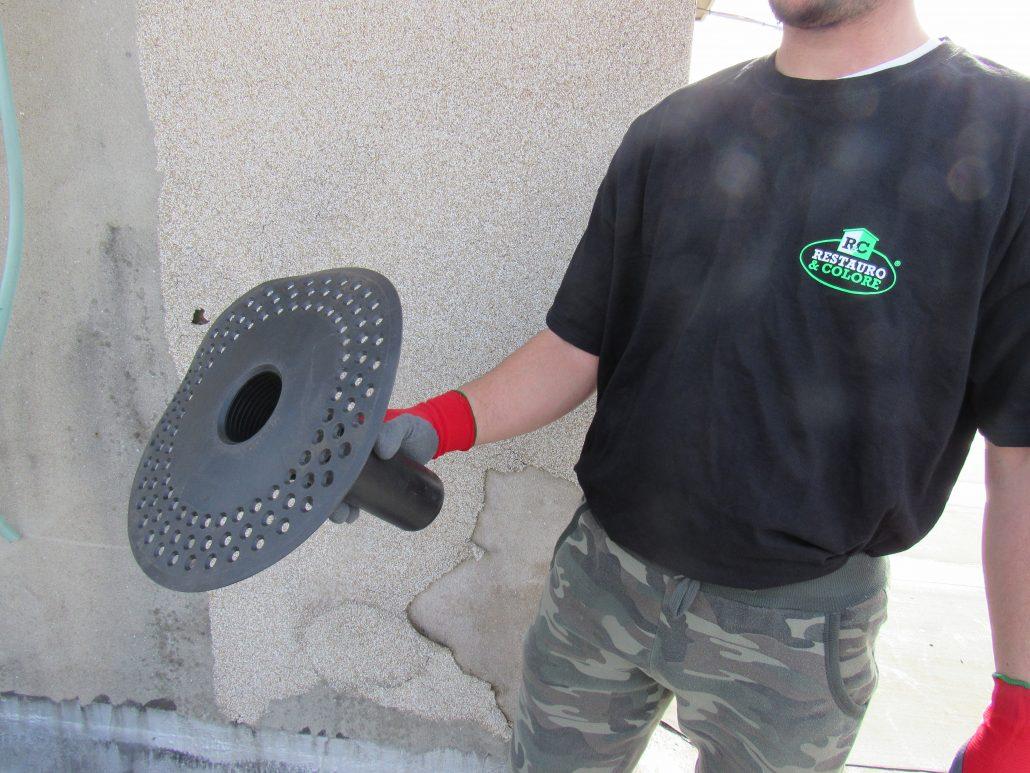 Rettifica scarichi a mezzo bocchettoni in PVC