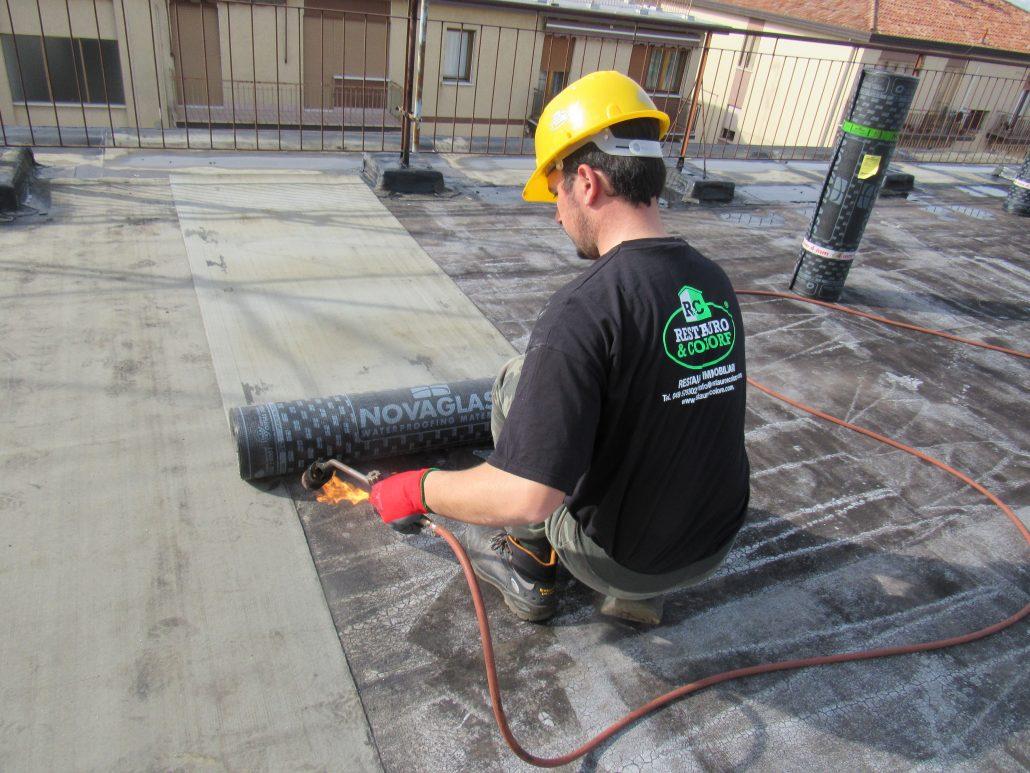 Impermeabilizzazione terrazze – Restauro & Colore